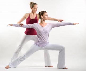 Yoga im Privatunterricht - die Regelmäßigkeit bringt den Erfolg