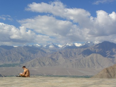 timeforone in leh beautiful man reading