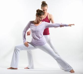 Yogalehrerin Verena Gayatri Primus hat sich auf privaten Yogaunterricht spezialisiert